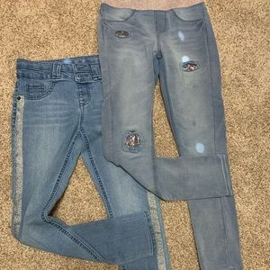 Bundle of 2 Girls Size 12 jeans